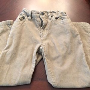 Other - Boys tan corduroy pants EUC